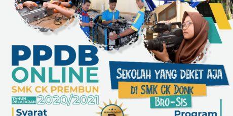 PPDB ONLINE SMK CIPTA KARYA PREMBUN T.A 2020/2021